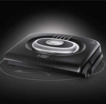 Russell Hobbs MT Retro Classic Noir Removable Plates Grill 20841-56