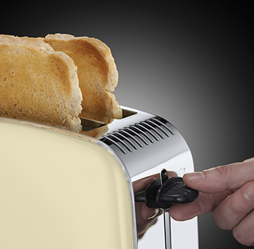 Russell Hobbs EU Colours Plus Cream 2 slice toaster 23334-56