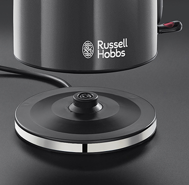 Russell Hobbs AT Colours Plus+ Storm Grey Wasserkocher 20414-70