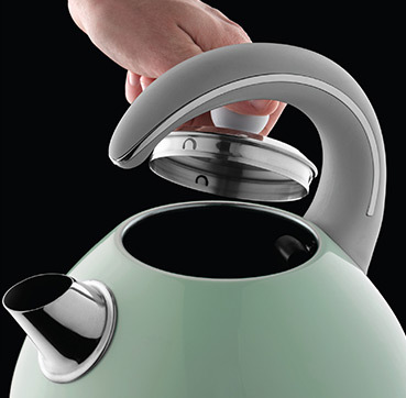 Brand Country e.g Russell Hobbs UK UA Чайник Bubble Soft Green 24404-70
