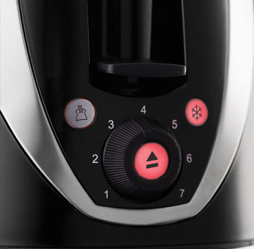 Russell Hobbs EU Mode Black Toaster 21410-56