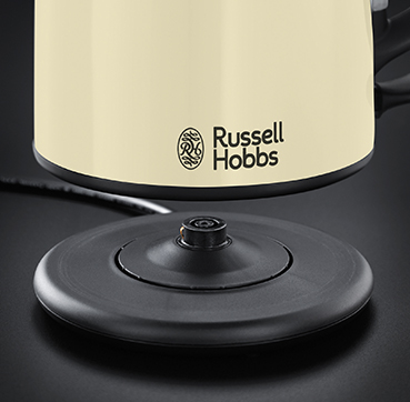 Brand Country e.g Russell Hobbs UK UA Компактний чайник Classic Cream 20194-70
