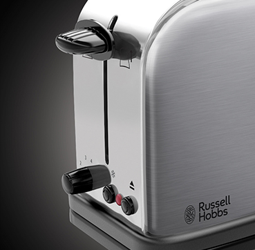 Russell Hobbs SI Oxford 2 Slice Long Slot toaster 21396-56