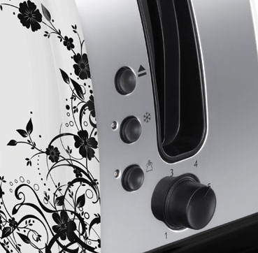 Brand Country e.g Russell Hobbs UK UA Тостер Legacy Floral  21973-56