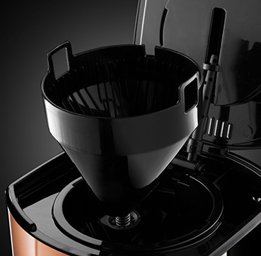 Russell Hobbs MT Luna Copper Accents Coffee Maker 24320-56