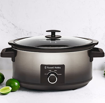 Russell Hobbs AU 6L Midnight Slow Cooker RHSC601