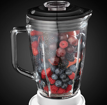 Russell Hobbs UK Your Creations 2 in 1 Jug Blender 18995