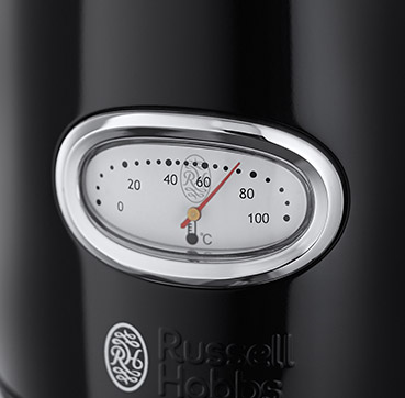 Russell Hobbs MT Retro Black Kettle 21671