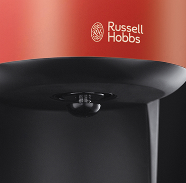 Russell Hobbs PT Máquina de café Flame Red (Colous Plus+) 20131-56