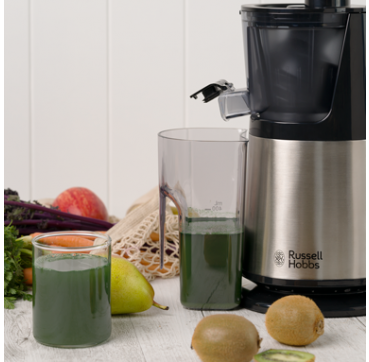 Russell Hobbs AU Luxe Cold Press Slow Juicer RHSJ100