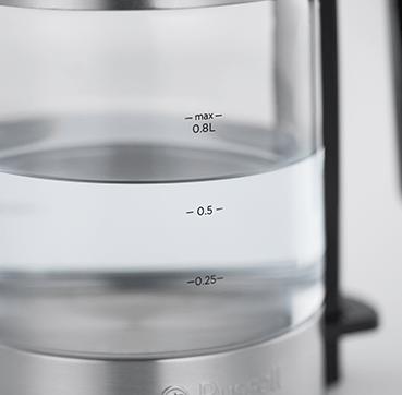 Välkända Kompakt vattenkokare i glas TB-01