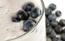 Creamy Blueberry & Vanilla Smoothie