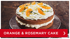 Orange and Rosemary Cake