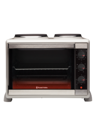 Compact Kitchen Convection Oven with Hotplates