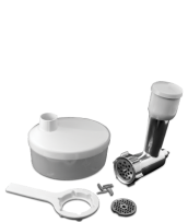 Find out more 155370 Meat Grinder for 18553 & 18557 Kitchen Machine