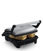 Izvedite več 17888-56 Cook@Home 3-in-1 Panini Maker/Grill & Griddle