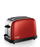 Find out more 18951 Colours Red 2 Slice Toaster