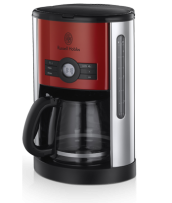 Find out more 18496 Heritage Red Digital Coffee Maker