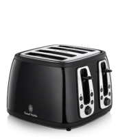 Find out more 18371 Heritage Black 4 Slice Toaster