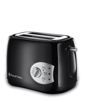 Find out more 18800 Buxton 2 Slice Black Toaster