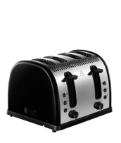 Find out more 21303 Legacy Black 4 Slice Toaster