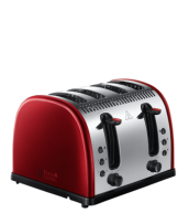Find out more 21301 Legacy Metallic Red 4 Slice Toaster