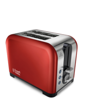 Find out more 22391 Canterbury 2 Slice Red Toaster