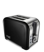 Find out more 22392 Canterbury 2 Slice Black Toaster