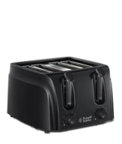 Find out more 21861 Black Toaster - 4 slice