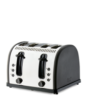Find out more about the RHT74CHA Vintage 4 Slice Toaster - Charcoal