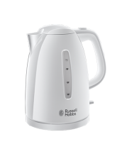 Find out more 21270 Textures Plastic Kettle - white