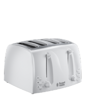 Find out more 21650 Textures Toaster White - 4 Slice
