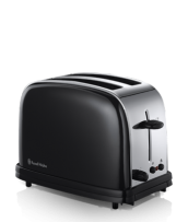 Find out more 14361 Black 2 Slice Toaster