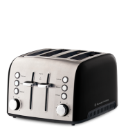 Find out more about the RHT54BLK Heritage Vogue 4 Slice Toaster - Black