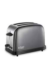 Find out more 23332 Colours Plus Grey 2 Slice Toaster