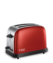 Find out more 23330 Colours Plus Red 2 Slice Toaster