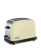 Find out more 23334 Colours Plus Cream 2 Slice Toaster