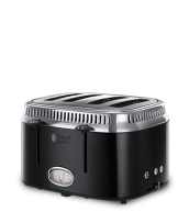 Find out more 21691 Retro Black 4 Slice Toaster