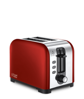 Find out more 23531 Henley Red 2 Slice Toaster