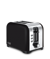 Find out more 23532 Henley Black 2 Slice Toaster