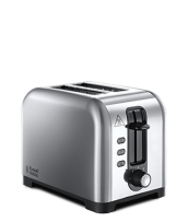Find out more 23530 Brushed 2 Slice Toaster