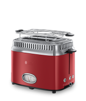 Mehr 21680-56 Retro Ribbon Red Toaster