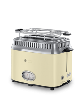 Mehr 21682-56 Retro Vintage Cream Toaster