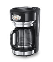 Läs mer 21701-56 Retro Classic Noir Coffee Maker with Glass Carafe