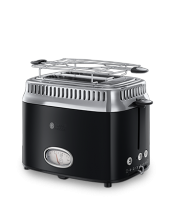 Find out more 21681-56 Retro Classic Noir 2 Slice Toaster
