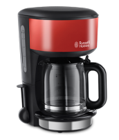 Mehr 20131-56 Colours Plus+ Flame Red Glas-Kaffeemaschine