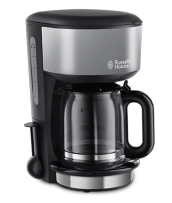 Mehr 20132-56 Colours Plus+ Storm Grey Glas-Kaffeemaschine