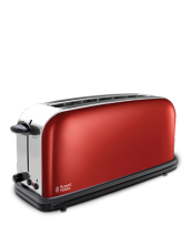 Mehr 21391-56 Colours Plus+ Flame Red Langschlitz-Toaster