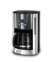 Läs mer 23241-56 Luna Moonlight Grey Coffee Maker with Glass Carafe