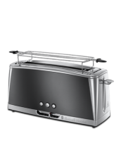 Find out more 23251-56 Luna Moonlight Grey Long Slot Toaster